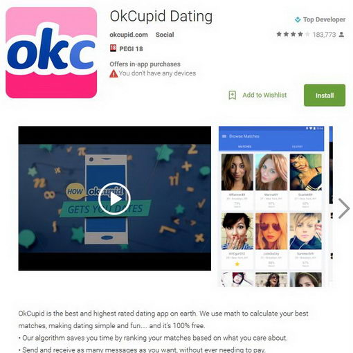 okcupid online dating review In this okcupid review, we'll discuss the pros and cons of this dating website that allows for nearly instant connections to other users.