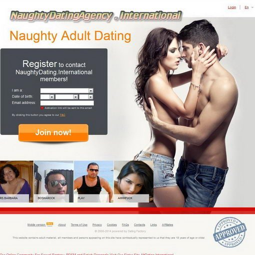 אתר היכרויות Naughty Dating