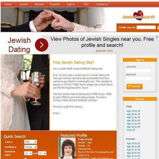אתר הכרויות Jewish Soul Search