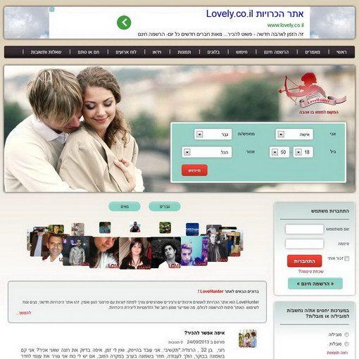 LoveHunter אתר היכרויות