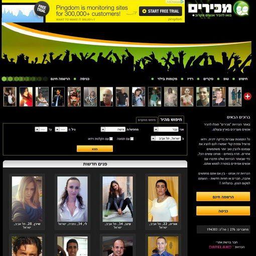 מכירים – אתר הכרויות ישראלי